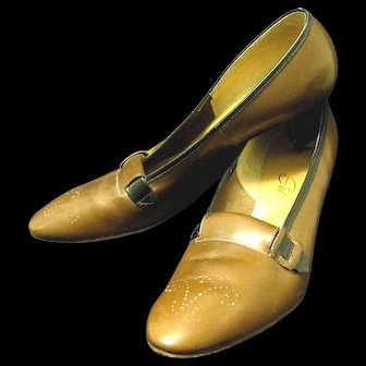 Vintage 1950's Pair of Lady's Selby Shoes, 1950, from Portsmouth, Ohio