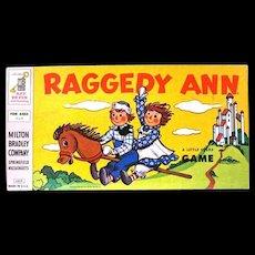"""""""Raggedy Ann, A Little Folks Game"""", MIlton Bradley, 1956"""
