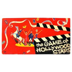 """""""The Game of Hollywood Stars"""", Published by Whitman, 1955"""