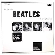 The Complete BEATLES Recording Sessions:  Official Story of the Abbey Road years 1962-1970