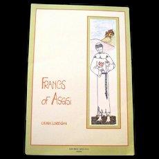 "Book, ""Francis of Assisi"" by Chiara Lorenzini, Illustrates the Life of this Saint"
