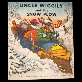 "1939 ""Uncle Wiggily and the Snowplow"", by Howard R. Garis"