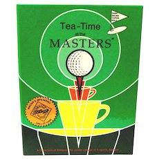 """Cookbook for Golfers, """"Tea-Time at the Masters"""", 1977"""