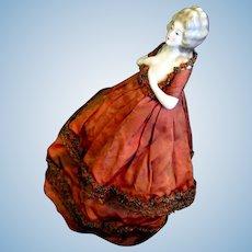 Karl Schneider Half-Doll Caged Boudoir Lamp