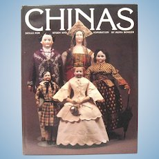 """Chinas, Dolls for Study and Admiration"", Mona Borger, 1983, 1st Printing"