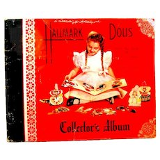 """1947 Collector's Album of Hallmark Greeting Cards, """"Dolls from the Land of Make-Believe"""""""