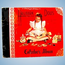 "1947 Collector's Album of Hallmark Greeting Cards, ""Dolls from the Land of Make-Believe"""