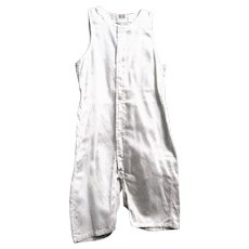 Never Worn Little Boy's White Woven Cotton Undergarment, 1920's