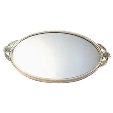 Miniature Version of an Elegant Matson Mirrored Vanity Tray