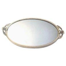 Miniature Version of an Elegant Matson Mirrored Vanity Tray