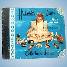 Complete Vintage Hallmark Dolls Collector's album, 1948