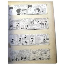 "Vintage ""Nancy"" Comic Strip Collection by Cartoonist Ernie Bushmiller"