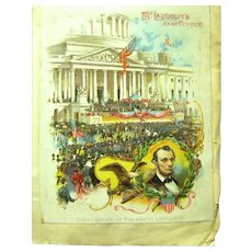 Mini Victorian Scrapbook, Lincoln's Inauguration, Chicago World's Fair, etc.