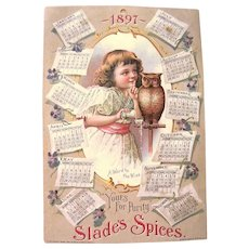 26-Page Victorian Scrapbook Filled with Scraps, Trade Cards, & Features Women