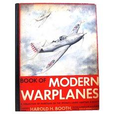 Book of Modern Warplanes, Harold Booth, Royal Canadian Air Force, 1942