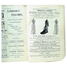 """""""Domestic Monthly, A Journal of Fashion..."""", April, 1881, Complete"""