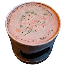 Fragrant Unused Box of Apple Blossom Bathmeal by Pinaud, 1930's