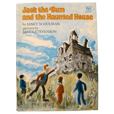 """""""Jack the Bum and the Haunted House"""" by Janet Schulman, 1977"""