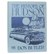 """Automobile Book, """"History of the Hudson"""" by Don Butler"""