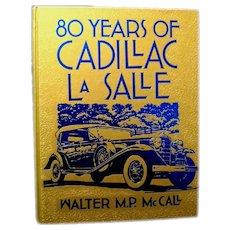 """80 Years of Cadillac - LaSalle"", 1982 (Crestline Automotive Series)"