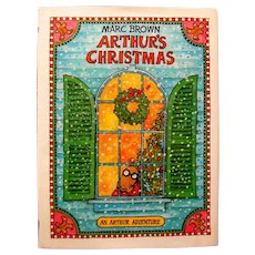 "1984 HC Children's Book, ""Arthur's Christmas"" by Marc Brown"