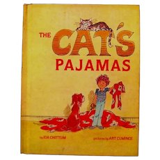 "Children's book, ""The Cat's Pajamas"", by Ida Chittum & Art Cummings, 1980"
