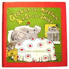 "Children's Book, ""George and Martha, Rise and Shine"", by James Marshall, 1976"