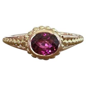 Tourmaline Ring - Pink Tourmaline Ring - Jewelry - Gemstone Ring - Rose Gold Ring - Fine Jewellery