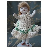 Nippon All Bisque Jointed Doll