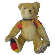 Hermann Bear - Germany - Yellow Mohair - Growler - 1990