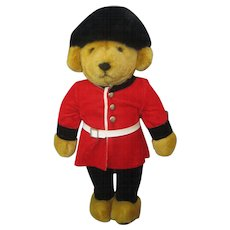Merrythought Guard Bear - With Tag - 16""