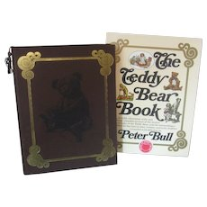 The Teddy Bear Book by Peter Bull -  Hardback - Ltd Edition - Signed - With Sleeve & Bookmark- House of Nisbet, England