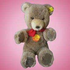 "Steiff Teddy Bear Soft Plush (#0205/26) 9"" New Condition So Sweet!!"
