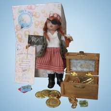 "Kish ""The Pirate""  Riley Doll Fully Articulated, Painted Eyes, With Many Convention Extras"