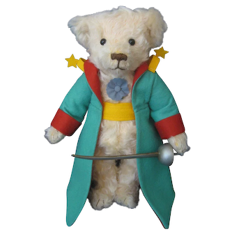 """R. John Wright - """"The Little Prince Bear"""" - 2017 - With Coa and Tag - #35 Of Only 150 Pieces Made"""
