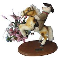"""Steiff """"Rough Riders"""" Teddy Roosevelt - Teddy Bear & Horse - 2008 - Ltd. Ed. -"""