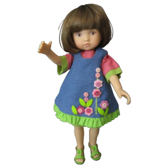 Dianna Effner - Tuesday's Child - Amelia Bearzabout - Boneka Outfit - 2005 Ltd 100
