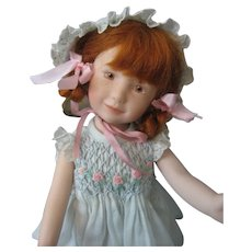 "Heather Maciak - 8"" All Porcelain Doll - *Lexi* - NIADA Artist - 2008"