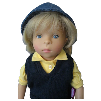 GOTZ *Sylvia Natterer* Minouche Artist Doll - Boy Doll - Original Outfit
