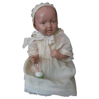 Parsons-Jackson Celluloid/Biskoline Doll - Cleveland, Ohio Baby Doll Painted Eye