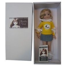 """""""WITH HAT"""" Dianna Effner *Little Darling* **MERRY** UFDC Region 11, Md, 2018 Convention Doll -Ltd 260"""