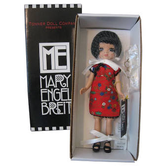 "Mary Engelbreit Doll by Robert Tonner - Parasol Party - 8"" Doll Never Out Of Her Box - 2003 -"