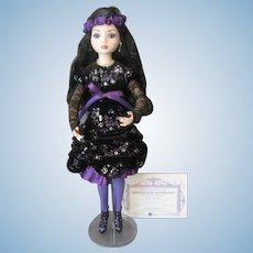 Rare Tonner Ellowyne Wilde Doll *Velvet Lights* 2014 PARIS FASHION DOLL FESTIVAL - Only 75 Made