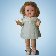 Ideal Vintage Doll - Walker - Marked on Neck - Squeaker Works