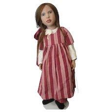 "Zwergnase ""Imelda"" 1999 Christmas Doll by Artist Nicole Marschollek - She is #4 of only 100 Made"