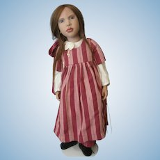 "Zwergnase ""Imelda"" 1999 Christmas Doll by Artist Nicole Marschollek - She is #4 of only 100 Made"