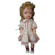 Terri Lee Look A Like *Mary Jane* Doll - 1953 - Flirty Eye Walker - 1953