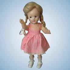 "Madame Alexander - 9"" McGuffey Ana Doll - Original Tagged Outfit, Socks & Shoes"