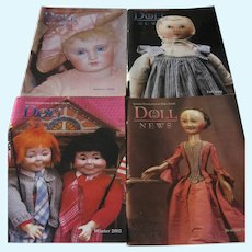 Doll News Magazines 2002 Complete Year (4) Spring, Summer, Fall & Winter - UFDC