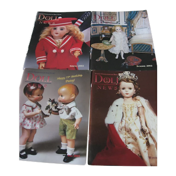 Doll News Magazines (4) Complete Year 2003 - UFDC
